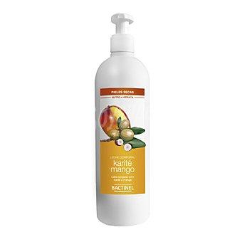 Bactinel Leche corporal con karité y mango para piel seca 400 ml