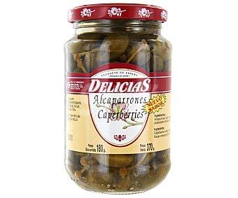 Delicias Alcaparrones finos Frasco de 180 grs