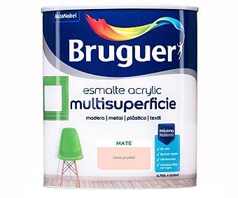 Bruguer Esmalte acrílico de color mate rosa 0,750l, bruguer. 0,750 l