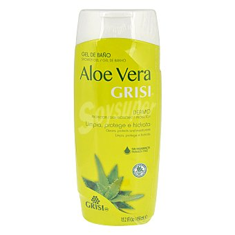 GRISI Gel de baño con aloe vera Bote 450 ml