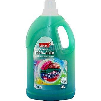 Aliada Detergente máquina líquido para ropa de color botella 3 l 40 dosis