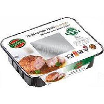 La Carloteña Muslo de pollo relleno de j. serrano-queso 350 g
