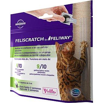 Feliscratch Pipetas para gatos correctoras de arañazos Envase 9 unidad
