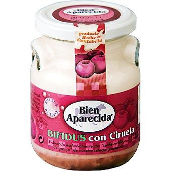 Bien Aparecida Yogur especial con ciruelas Bio Tarro 250 g