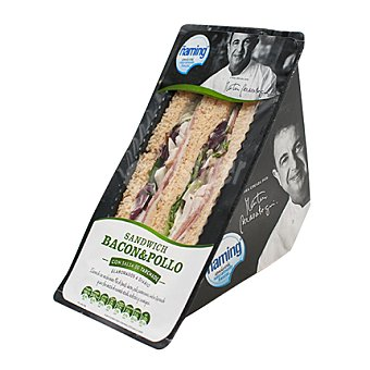 Ñaming Sandwich de bacon y pollo 187 g