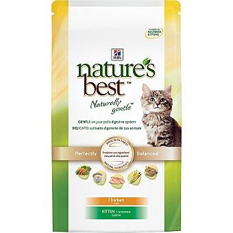 HILL'S NATURE'S BEST KITTEN Alimento de nutrición superior para gatitos menores de 1 año con pollo Bolsa 2 kg