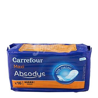 Carrefour Compresas incontinencia maxi 16 ud