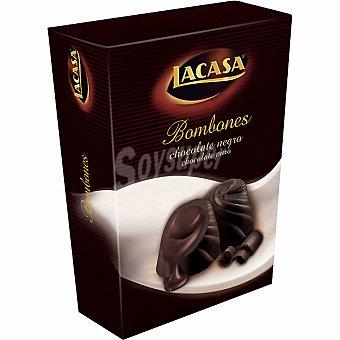 Lacasa Bombones de chocolate negro Estuche 100 g