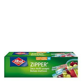 Albal Bolsa congelación zipper pequeña 1 litro 15 ud