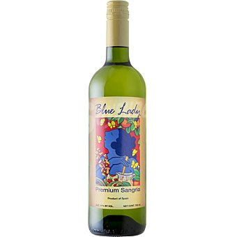 Blue lady Sangría blanca Botella de 75 cl
