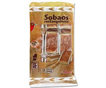 Auchan Sobao Rectangular 340 Gramos