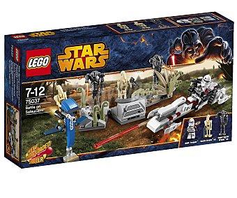 LEGO Juego de Construcciones Star Wars Battle on Saleucami, Modelo 75037 1 Unidad
