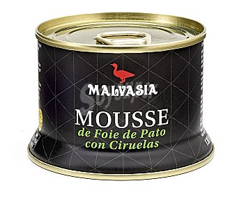 Malvasia Mousse de foie de pato con ciruelas 130 gr