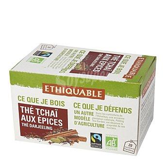 Ethiquable Té Tchai con especias en bolsitas Ethiquable 20 ud