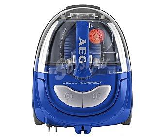 AEG AE2010EL Aspirador sin bolsa, potencia 800w, ciclónico, capacidad del depósito 1,2 litros