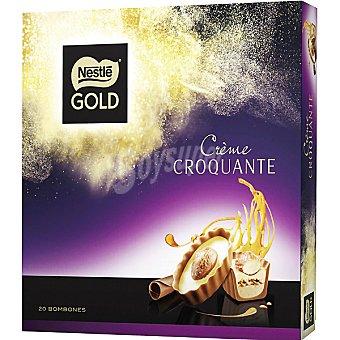 Gold Nestlé Crème Croquante bombones estuche 180 g 20 unidades