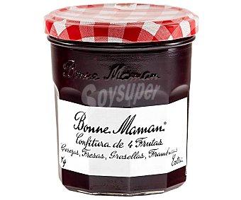 BONNE MAMAN Confitura 4 frutas rojas frasco 370 g
