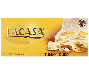 Lacasa Turrón duro artesano de calidad suprema 150 gramos