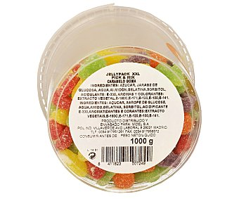 Midel Caramelos de goma con forma de frutas 1 Kilogramo