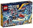 Juego de construcciones con 523 piezas Halcón-bláster de combate de Clay, Nexo Knights 70351 lego  LEGO