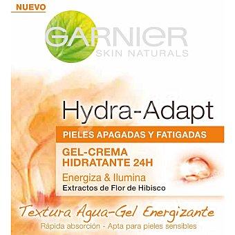 Garnier Crema hidratante con flor de hibiscus y extractos de savia y pulpas vegetales, que aporta energía y luminosidad a la piel para pieles apagadas y fatigadas, que pierden brillo y necesitan luminosidad 50ml