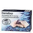 Lomos merluza con piel 400 g Carrefour