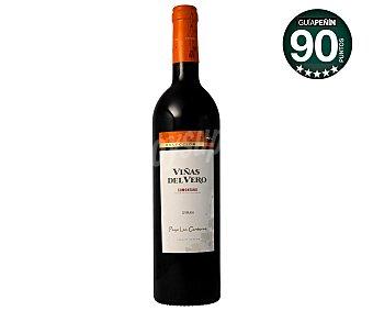 Viñas del Vero Vino tinto syrah Botella de 75 cl