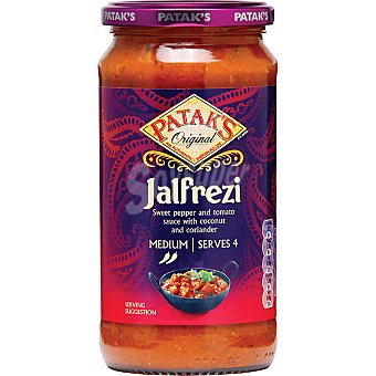 Patak's Salsa curry Jalfrezi Frasco 450 g