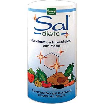 Sal Dieta Sal baja en sodio con yodo Bote de 500 g