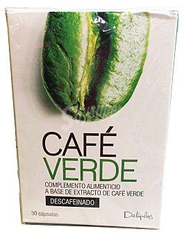 DELIPLUS Cápsulas café verde (para perdida de peso) Caja de 30 uds