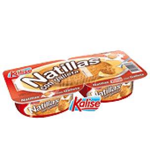 Kalise Natilla con galleta Pack de 2x125 g