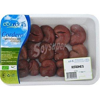 Ecordon Riñones de cordero ecológico peso aproximado Bandeja 500 g
