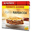 Lasaña barbacoa familiar 1060 g La Cocinera