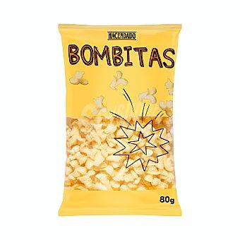 Hacendado Aperitivo bombitas de maiz sabor mantequilla Paquete 80 g