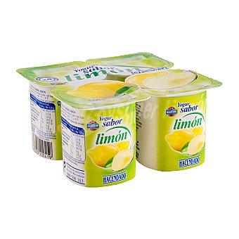 Hacendado Yogur limón Pack 4 x 125 g - 500 g