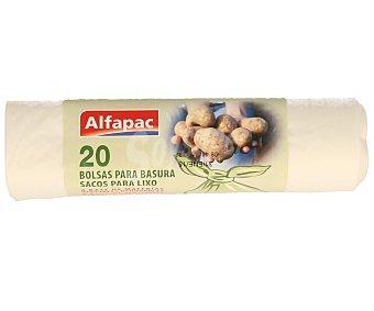 ALFAPAC Bolsas de Basura Biodegradables 10 Litros 20 Unidades