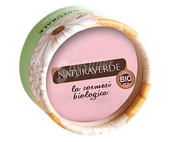 Naturaverde Sombra de ojos con textura suave en polvo, tono 006 Rosa perla NATURAVERDE.