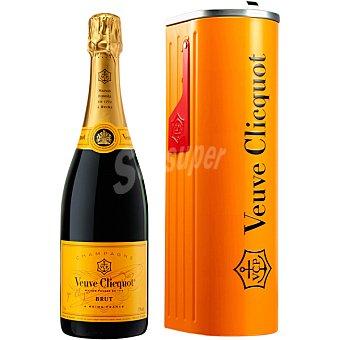 Veuve Clicquot champagne brut Estuche lata botella 75 cl