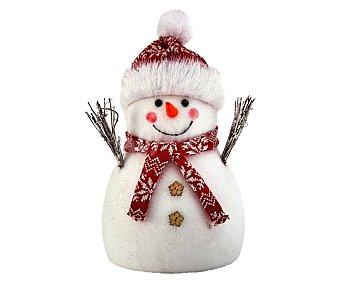 Actuel Muñeco de nieve decorado de 33 centímetros, actuel.