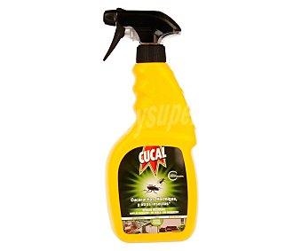 Cucal Spray pistola para matar cucarachas, hormigas, moscas, arañas y pececillos de plata (uso en interiores y exteriores) 400 mililitros