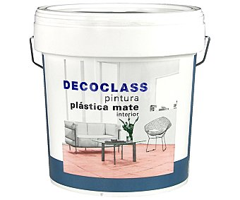 DECOCLASS Pintura acrílica de interior color blanco 0,75 litros