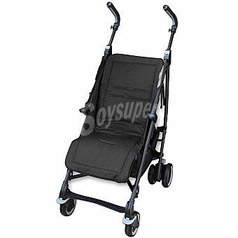 JM CAMPOS Colchoneta recta universal para silla de paseo en color negro