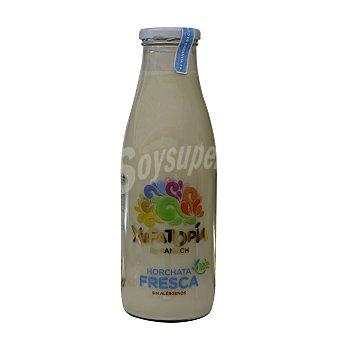 Xufatopía Horchata fresca botella 750 ml Botella 750 ml