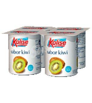 Kalise Yogur líquido kiwi Pack de 4x125 g