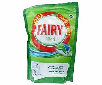 FAIRY Todo en 1 Detergente lavavajillas 46 C