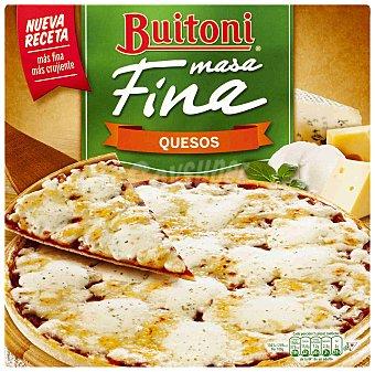 BUITONI Masa Fina pizza de 4 quesos  estuche 300 g