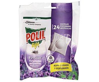 Polil Raid Antipolillas en pastilla Bolsa 24 unid
