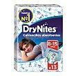 Calzoncillos para niños absorbentes de 8 a 15 años paquete 13 uds DryNites