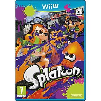 WII U Videojuego Splatoon para Wii U