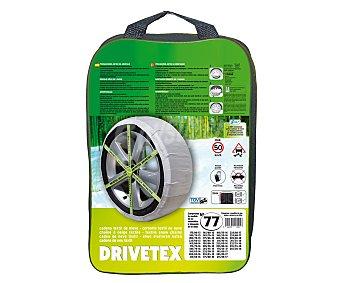 Drivetex Cadenas de nieve textiles, número 77 2 unidades